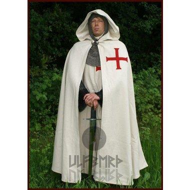 Historical Templar cloak