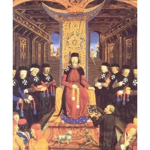 Ulfberth Historical Hospitaller cloak