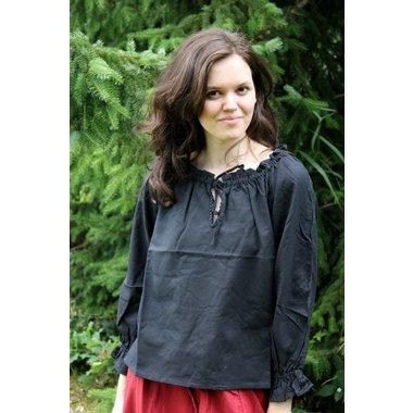 Blusa Fleur negro