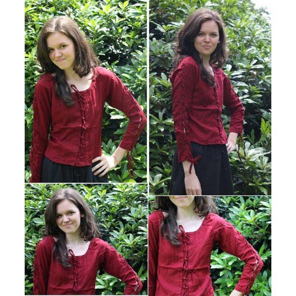 Bluzka Andrea czerwony