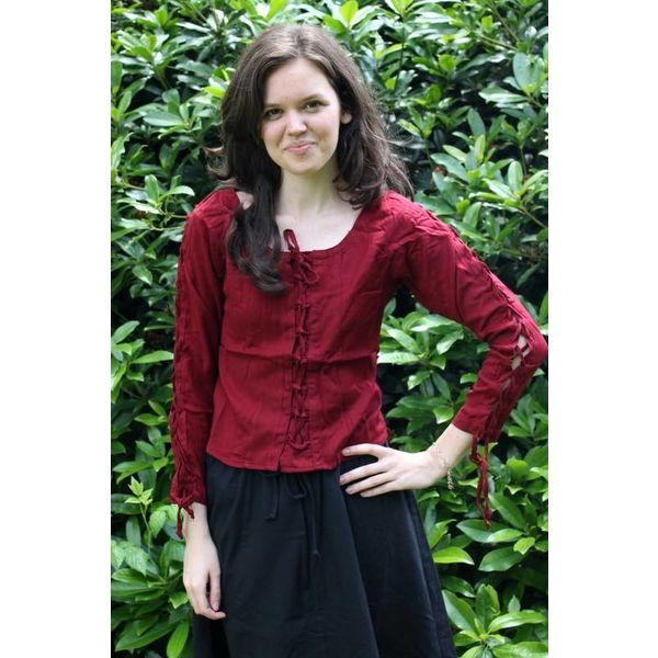 Blouse Andrea, rouge