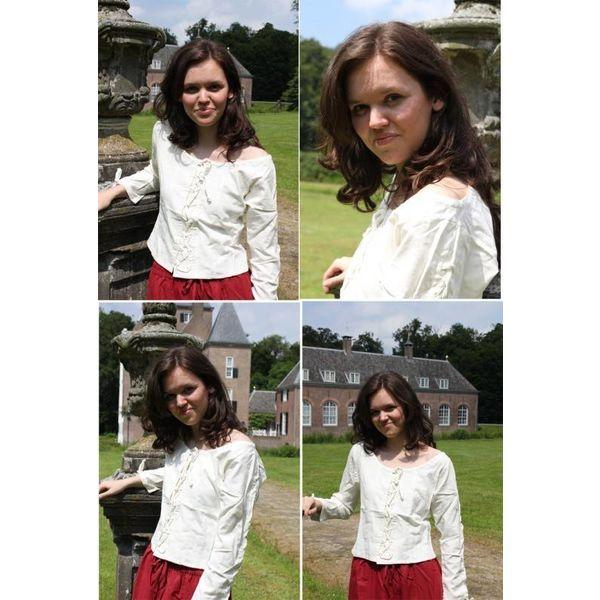 Blusa Andrea blanco