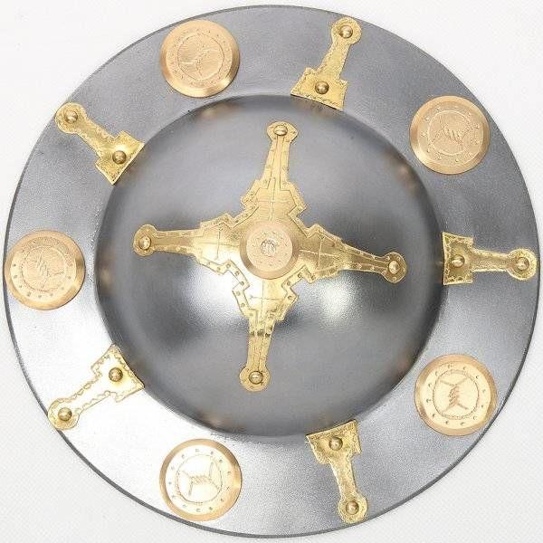 Germanic decorated shield boss