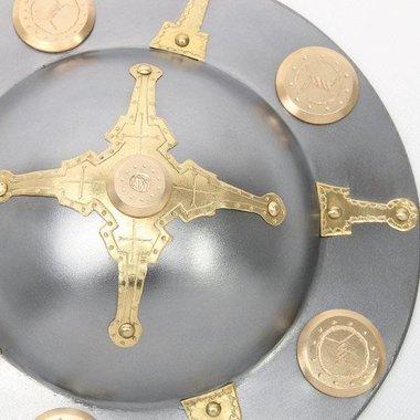 Rondache germanique décorée