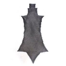 Łańcuchowe chausses mail, poczerniałe, 8 mm