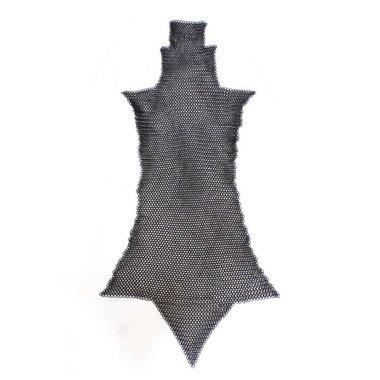 Brache di cotta di maglia, brunite, 8 mm