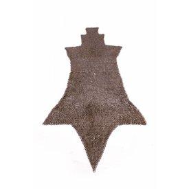 Ulfberth Łańcuchu chausses poczty płaskie pierścienie klin nity, 8 mM