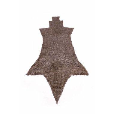 Brache di cotta di maglia, anelli piatti-rivetti a cuneo