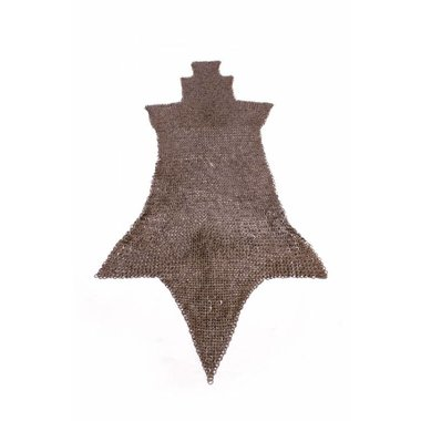 Jambière de maille, anneaux plats-rivets triangle