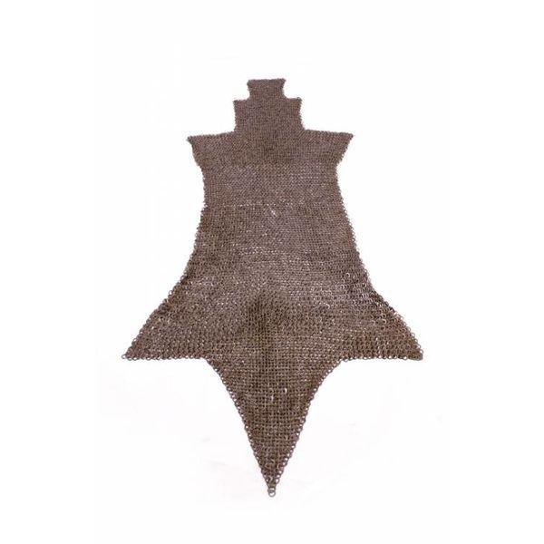 Ulfberth Jambière de maille, anneaux plats-rivets triangle