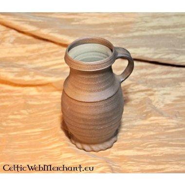 13th century cylinder neck jug