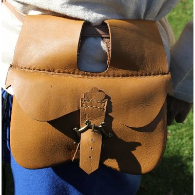 Bag with two compartments