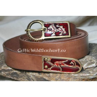 Cintura medievale smaltata