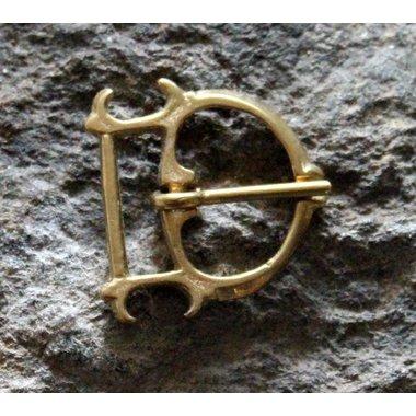 Luxe gotische gesp (1350-1400)