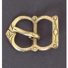 Hebilla Normanda siglo 12