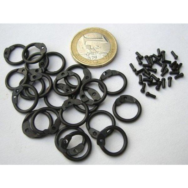 Ulfberth 1 kg runde Ringbrynje ringe-runde nitter