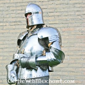 Marshal Historical Bras d'armure, Avant