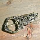 Viking buckle Midgard snake bronze