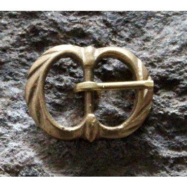 Fibbia decorata doppia (1350-1600)