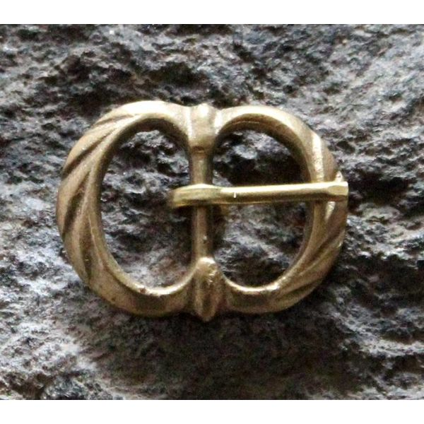 Marshal Historical Hebilla decorada doble (1350-1600)