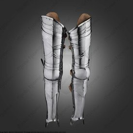 Marshal Historical Ribbed cuisses (1460-1500)