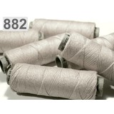 Linen yarn light grey, 50 m