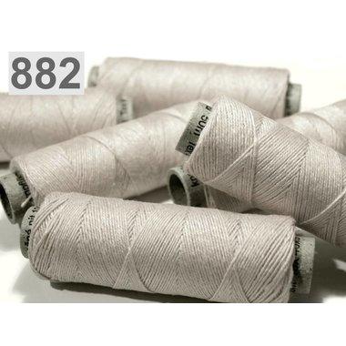 Filato di lino grigio chiaro, 50 m