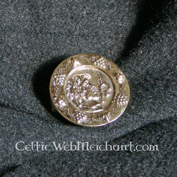 Fibula romana a disco I - II secolo AD.