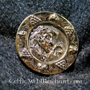 Fibule circulaire romaine, 1-2eme siècle