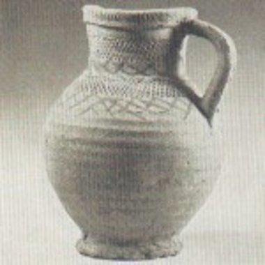 Jarra Pingsdorf siglo 12
