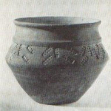 Vroeg-Middeleeuwse pot 13 cm