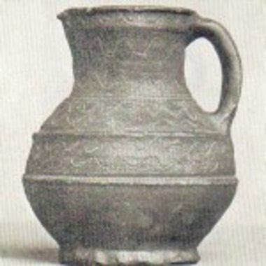 Caraffa da mescita medievale (1250-1350)