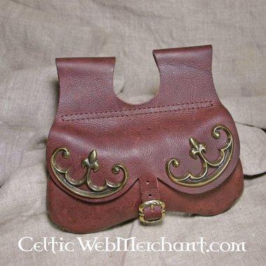 siglo 15 lujo bolsa de riñón
