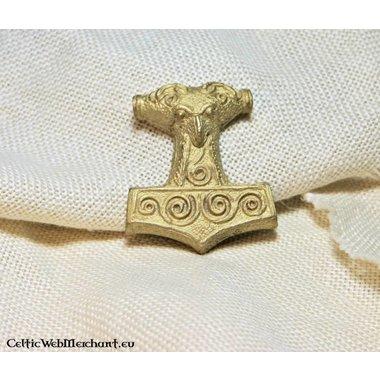 Marteau de Thor de Skane, en laiton