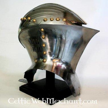 Duitse kikkervormige helm