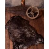 Pelle di pecora nordica nera