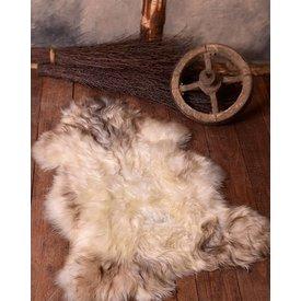 Nordisk fåreskind hvid