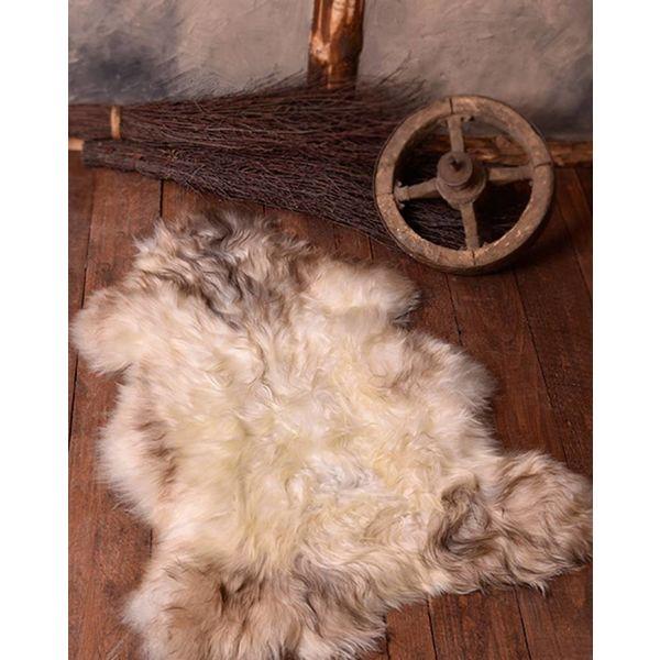 Peau de mouton nordique, blanc