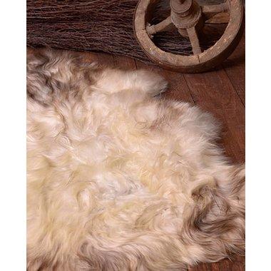 Piel de oveja nórdica en blanco