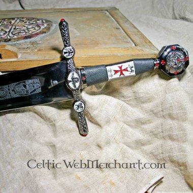 Espada Templaria decorada