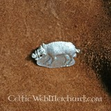 Medieval badge wild boar