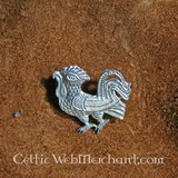 Medieval Cockerel Badge