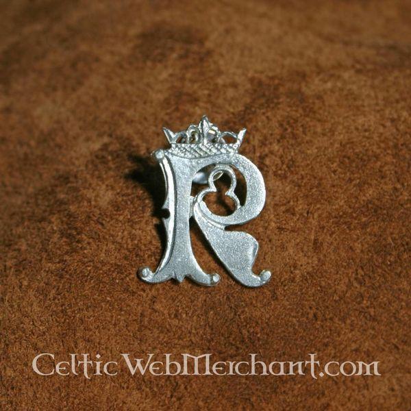 Badge Letter R