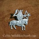 Badge vulva on horseback
