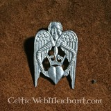 Badge Winged heart