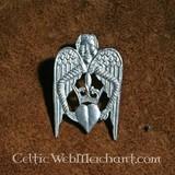 Insignia corazón con alas