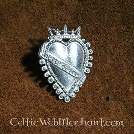 Distintivo pegno d'amore XV secolo
