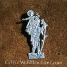 Enseigne médiévale, St Christophe