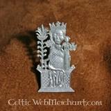 15th century badge Lady of Tombelaine