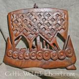 Wooden Viking ship